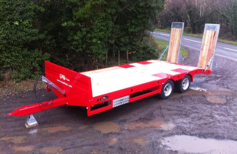 Beall Red Low-loader