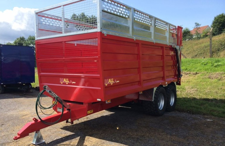 Beall 16T Silage/ Grain Trailer