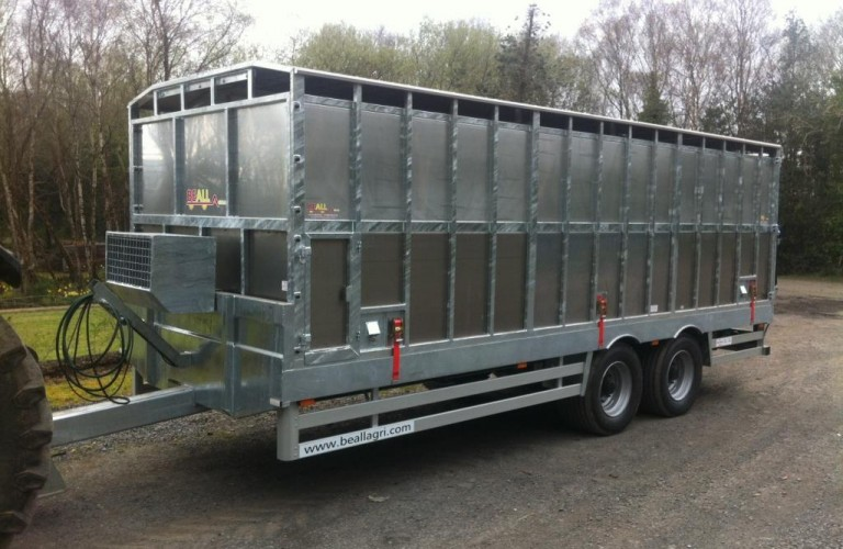 Beall fully galvanised Livestock Trailer