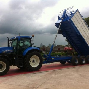 Bulk Blowing Trailers