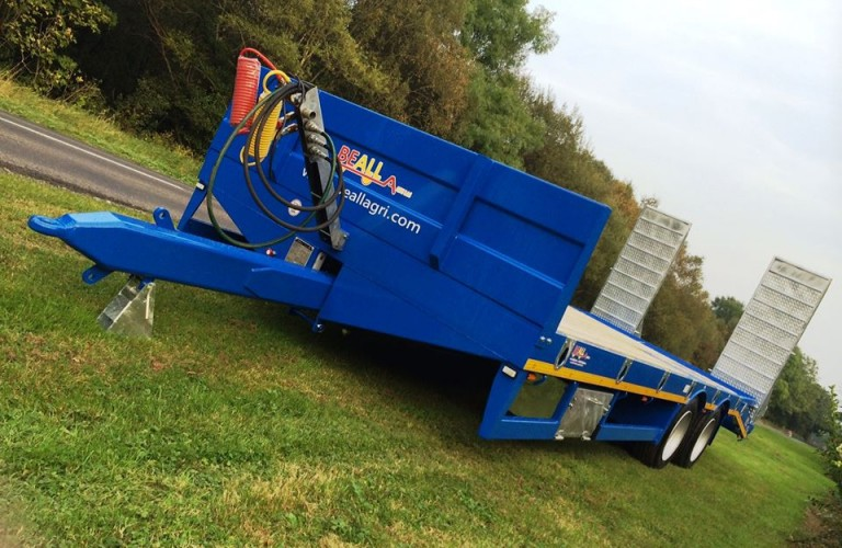 Beall RSA compliant low-loader